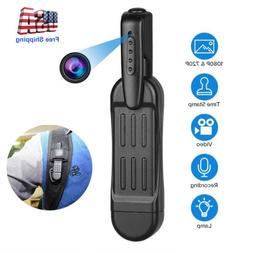 1080P HD Pocket Pen Camera Hidden Spy Mini Body Wireless Vid