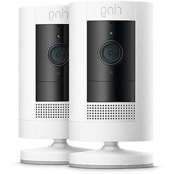 Ring Stick Up Cam Wire Free Indoor/Outdoor Security Camera