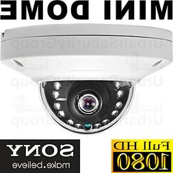 Urban Security Group 2MP 1080P HD Low Profile Dome Camera :