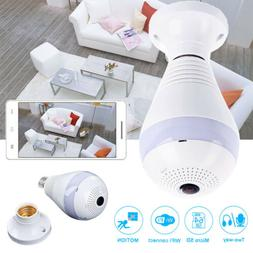 360° Security Camera System Wireless Home Wifi Indoor Panor