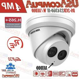 HIKVISION 4MP POE IP Outdoor IR Network Turret Camera 2.8mm