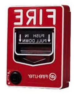 AES 720P HD EMERGENCY FIRE ALARM PULL STATION HIDDEN NANNY S