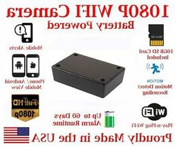 AES 30 Day Battery Powered WIFI Black Box Mobile Wireless Sp
