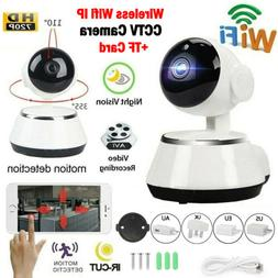 HD Wireless Wifi Security Camera 720P Webcam Baby Pet Monito