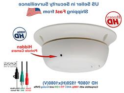 Hidden Spy Nanny Security Camera Smoke Detector Type 1080p A