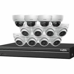 Dahua 4K IP Kit: 16-Ch NVR + 8 x 4MP Security Camera, White