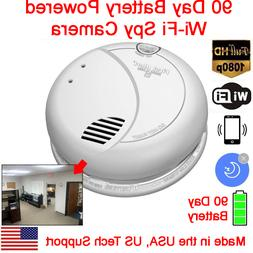 Jovision HD 1080P 90 Day Battery Powered WiFi Smoke Detector