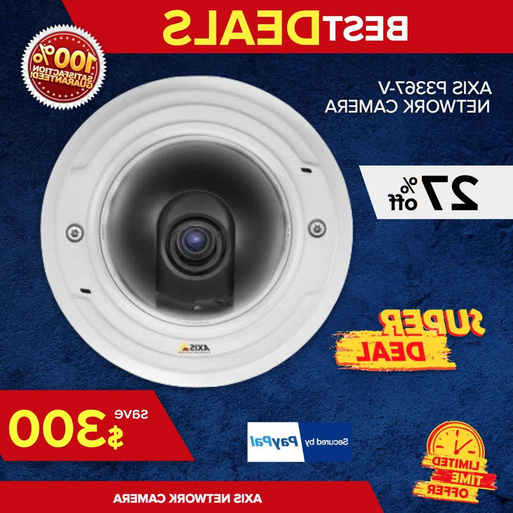 AXIS P3367-V Network Camera - Color, Monochrome 2592 x 1944