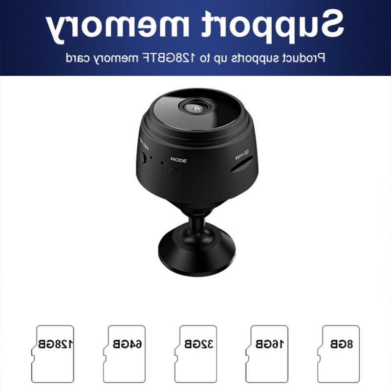 Mini Wifi IP HD DVR Night Security US