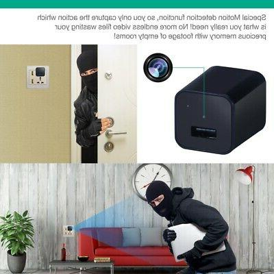 HD Camera USB Wall Charger Recorder Surveillance Security