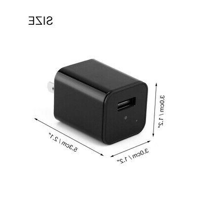 Wall Charger Video Recorder Surveillance Security Camera