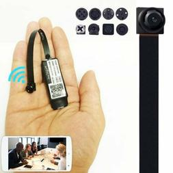 Mini Spy Nanny CAM wireless WIFI IP Pinhole DIY Small Video