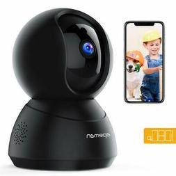 APEMAN WiFi Camera 1080P Pet Camera Baby Monitor Works with