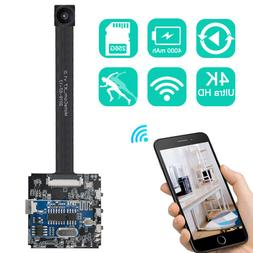 Real 4K DIY WIFI Camera 120 Degree Motion Detection Security